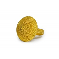 "18K Gold filigree ring ""CESTINO"""