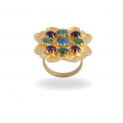 "18K gold ring ""ORGOSOLO"""