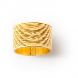 "18K gold ring ""FASCIA"""