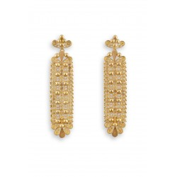"18K gold earrings ""PIZZO REGALE"""