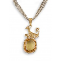 "18K gold pendant ""GALLETTO"""