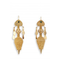 "Filigree earrings in gold 18K ""ANFORA"""