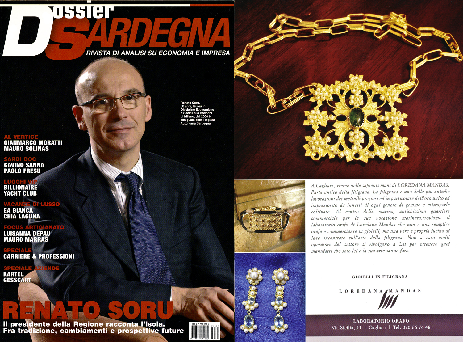 Review of DOSSIER SARDEGNA