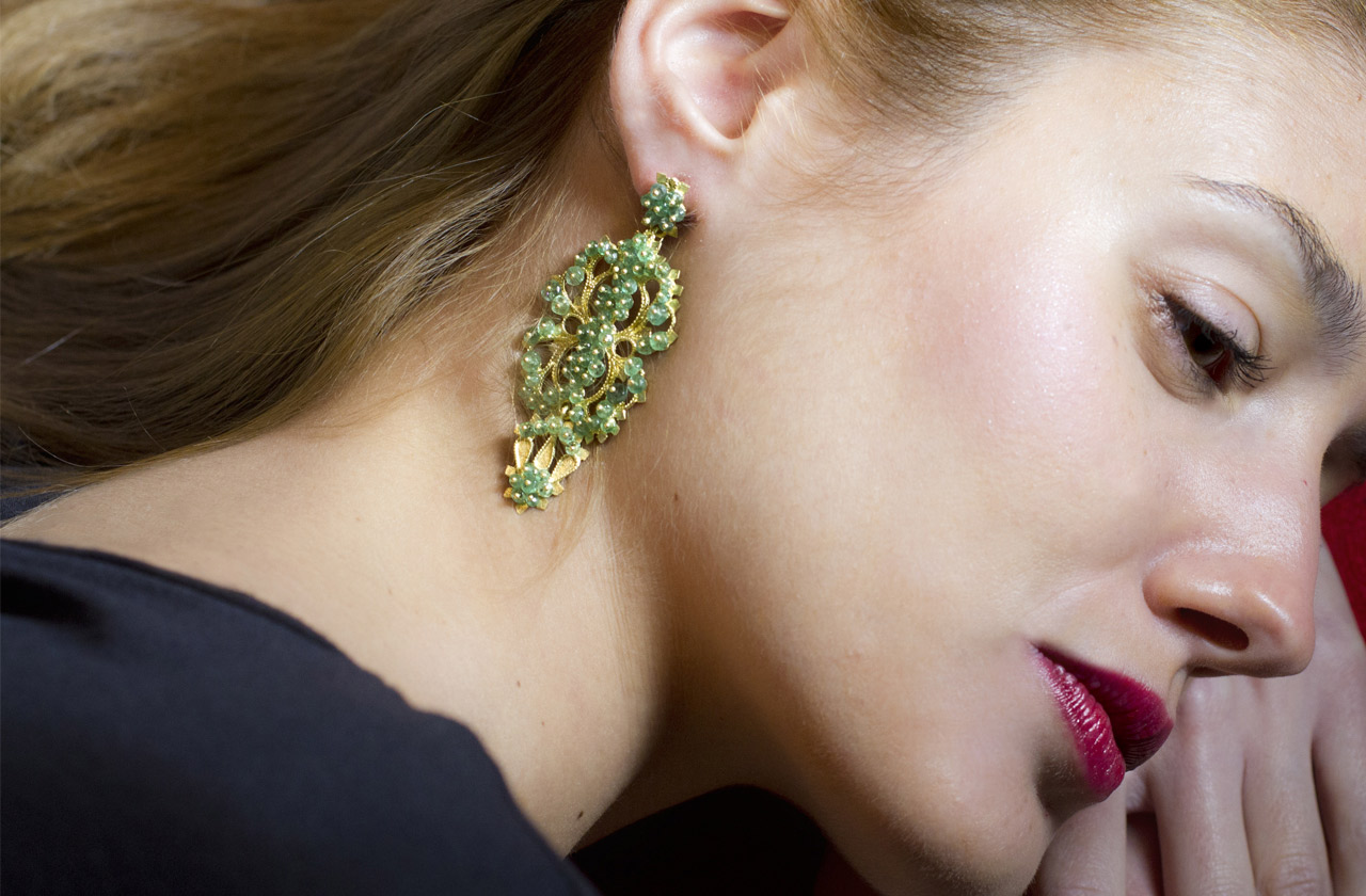 18K Gold Jewelry handmade by goldsmith Loredana Mandas